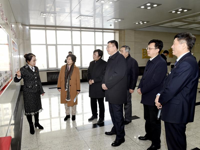 省委副书记陈海波莅临我校调研党建和后勤等工作